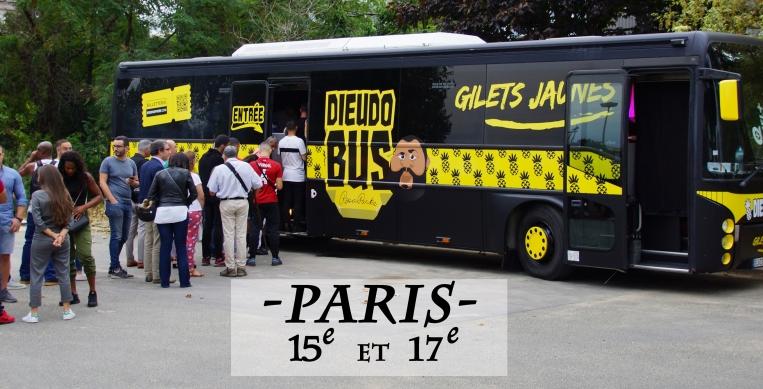 Nouveau spectacle Dieudonné à Paris
