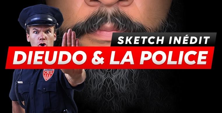 Sketch Dieudonné et la police